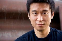 Interestng Asiat-Mann Lizenzfreie Stockbilder