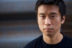 interestng azjatykci mężczyzna Fotografia Royalty Free