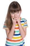 interesująca dziewczyna trochę Obraz Royalty Free