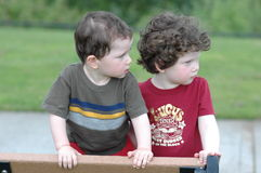 interesujące dzieci Zdjęcie Royalty Free