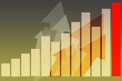 interesy bankowe marketingowe sprzedaży ilustracja wektor
