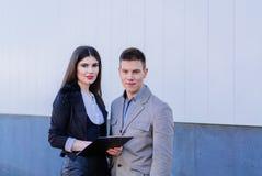 interesy partnerów młodych Obraz Stock