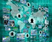 Interfaccia Immagini Stock
