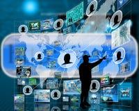 Interfaccia Immagine Stock