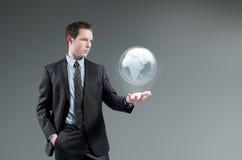 Concetto futuristico di tecnologia. Fotografie Stock Libere da Diritti