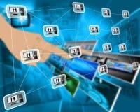 Interfaccia del PC Immagini Stock