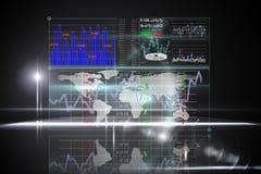 Interfaccia di affari Immagini Stock Libere da Diritti