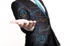 Interfaccia di media Immagine Stock