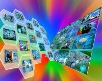 Interfaccia doppia Fotografia Stock Libera da Diritti