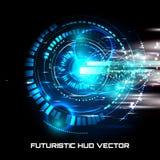 Interfaccia futuristica, HUD, fantascienza Immagini Stock