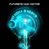 Interfaccia futuristica, HUD, fantascienza Immagini Stock Libere da Diritti