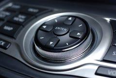 Interfaccia moderna dell'automobile. Immagine Stock