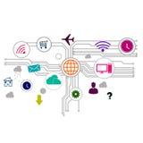 Interfaccia utente Immagini Stock Libere da Diritti