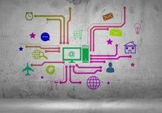 Interfaccia utente Immagini Stock