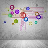 Interfaccia utente Fotografia Stock