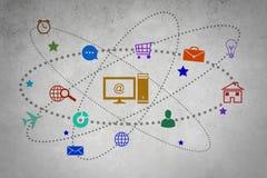 Interfaccia utente Immagine Stock Libera da Diritti