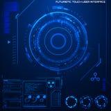 Interfaccia utente grafica futuristica