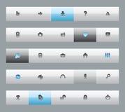 Interface buttons Stock Photos