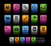 Interface // Colorbox series Stock Photo
