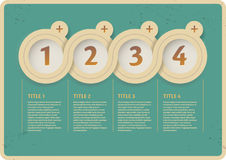 Interface d'Infographic Image stock