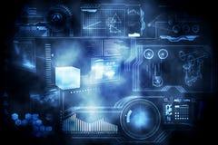 Interface de technologie illustration de vecteur