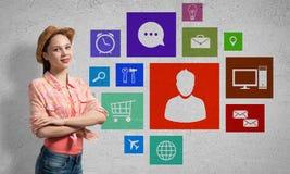 Interface de utilizador Imagem de Stock