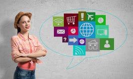 Interface de utilizador Imagens de Stock