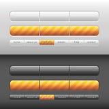 Interface de utilizador moderna do vetor Imagem de Stock