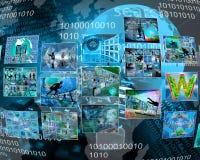 Interface des photos Photo stock