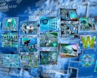 Interface des photos Images stock