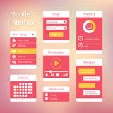 Interface elements Royalty Free Stock Photos