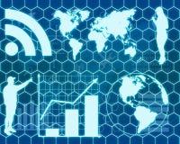 Interface High-Tech stock illustration