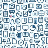 Interface icons Stock Images