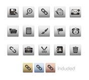 Interface // Metallic Series Royalty Free Stock Photo