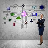 Interface presentation Stock Images