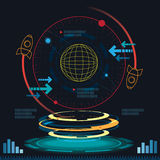 Interface science fiction Stock Photography