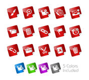 Interface // Stickers Royalty Free Stock Images