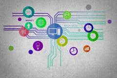 Interface utilisateurs Images libres de droits