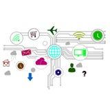 Interface utilisateurs Photos libres de droits