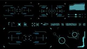 Interface utilisateurs futuriste Image libre de droits