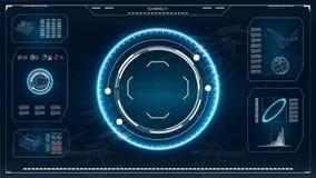 Interface utilisateurs futuriste Illustration de vecteur pour votre eau doux de design illustration stock