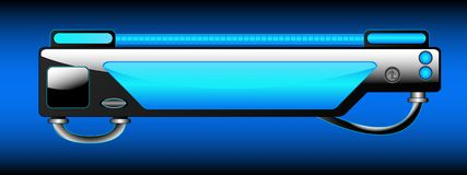 InterfaceBlue Stock Image