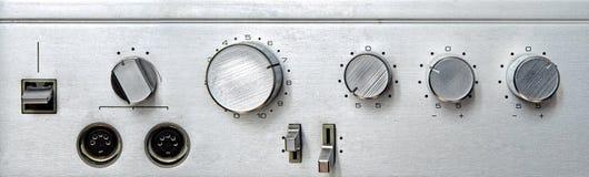 Interfaz de aluminio retro Imagenes de archivo