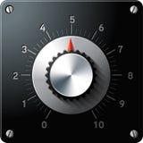 Interfaz de control analogico de regulador stock de ilustración