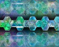 Interfaz de la célula Fotografía de archivo