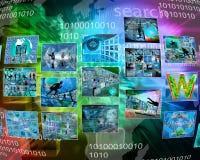 Interfaz de las imágenes Imagen de archivo libre de regalías