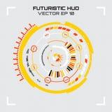 Interfaz de usuario futurista de Sci fi Ilustración del vector stock de ilustración