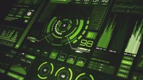 Interfaz futurista | HUD | Pantalla de Digitaces