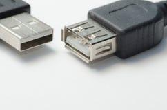 Interfaz USB imagen de archivo