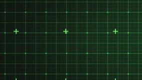 Interfaz verde stock de ilustración
